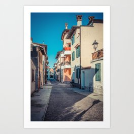 walking through Grado Art Print