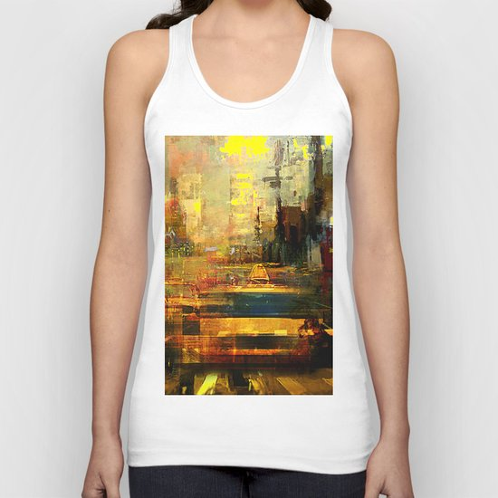hot afternoon Unisex Tank Top
