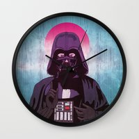 sith Wall Clocks featuring Holy Sith by That Design Bastard