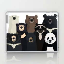 Bears of the world Laptop & iPad Skin