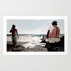 GOMERA Art Print