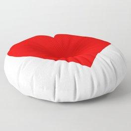 Heart (Red & White) Floor Pillow