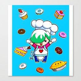 Let's get baking! Canvas Print