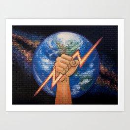 Earth Power Art Print
