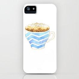 Capuccino Foam Cup iPhone Case