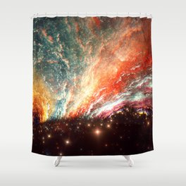 Another Strange Place Shower Curtain