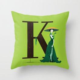 Klotilde & Walbaum Throw Pillow