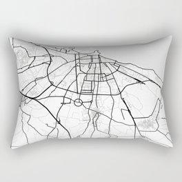 Bari Light City Map Rectangular Pillow