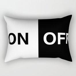 on off Rectangular Pillow