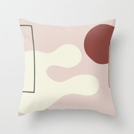 I dont know on ebony background Throw Pillow
