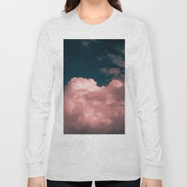 Pink night clouds Long Sleeve T-shirt