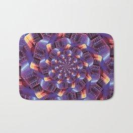 Spiraling Circuits Bath Mat