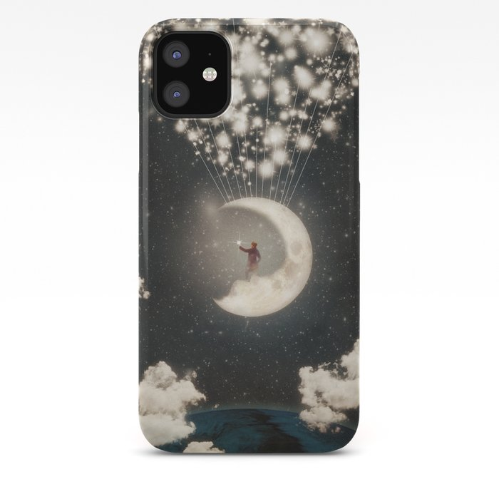 Man on the Moon iPhone 11 case