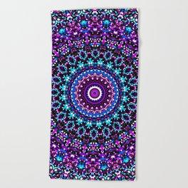 Mosaic Kaleidoscope 3 Beach Towel