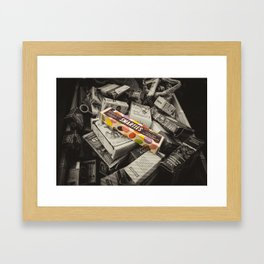 Only Smarties have the answer  Framed Art Print