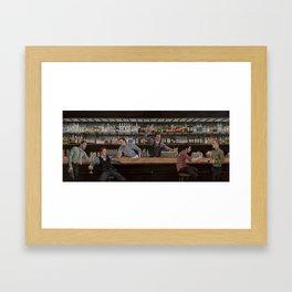 Dream House Bar Framed Art Print