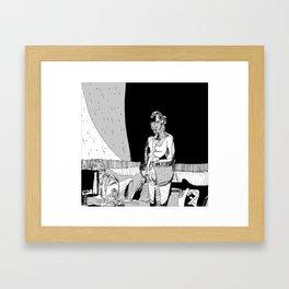 Portrait of EK Framed Art Print