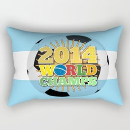 2014 World Champs Ball - Argentina Rectangular Pillow