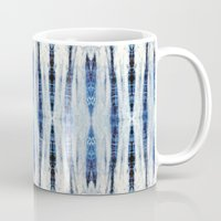 nori Mugs featuring Nori Blue by Nina May Designs
