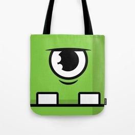 Monsters⁴ : Green Tote Bag