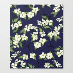 April blooms(Dogwoods_blue) Canvas Print