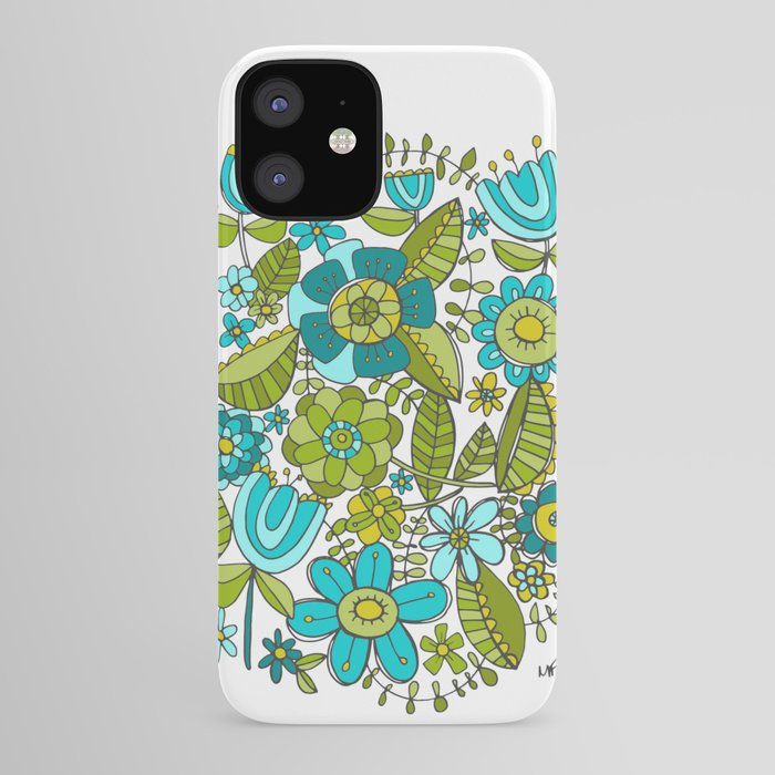 Botanical Doodles iPhone Case