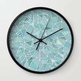 Pastel Diamond Wall Clock