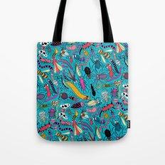 Bug Pattern Tote Bag