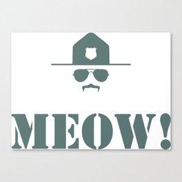 original meow! Canvas Print