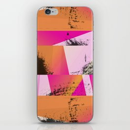 Summer Sunset Abstract Digital Collage iPhone Skin