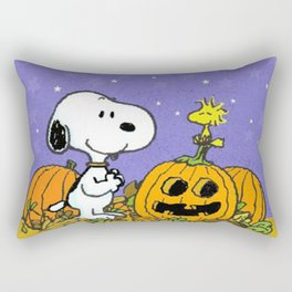 snoopy hallowen Rectangular Pillow