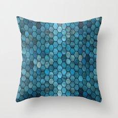 Glitter Tiles III Throw Pillow