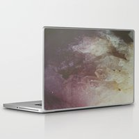 crystal Laptop & iPad Skins featuring Crystal by Neon Wildlife