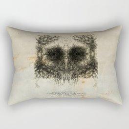 Skulloid II Rectangular Pillow