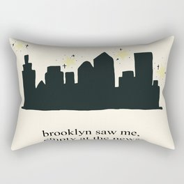 Harry Styles Ever Since New York illustration Rectangular Pillow