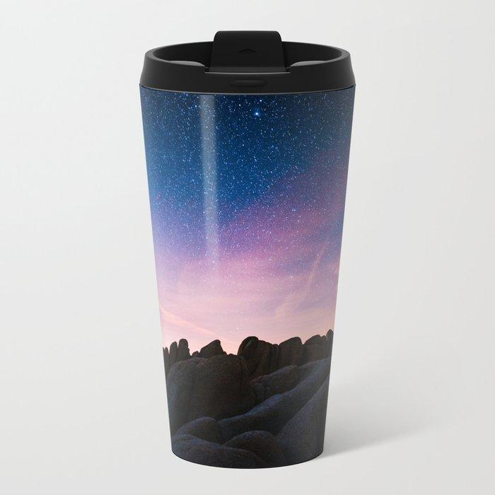 Stars Metal Travel Mug