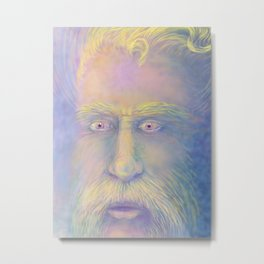 Van Gogh inspired portrait Metal Print