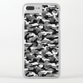 Urban Camouflage Clear iPhone Case