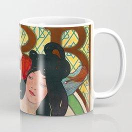 Job Poster II - Alphonse Mucha Coffee Mug