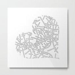 Heart (10) Metal Print