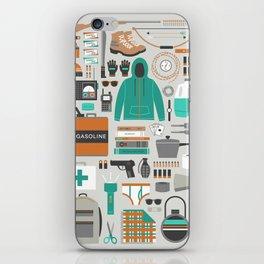 Zombie Survival Kit iPhone Skin