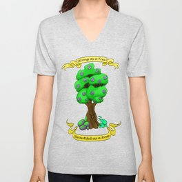 Strong as a Tree Unisex V-Neck