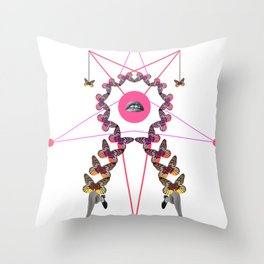 light step Throw Pillow