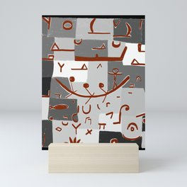 Paul Klee Inspired - The Nile #2 Mini Art Print