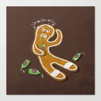 ale giorgini Canvas Prints featuring Ginger Ale by jerbing