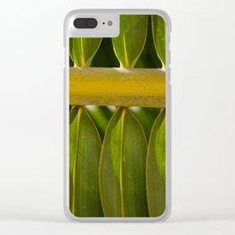 Leaf from Zanzibar Clear iPhone Case