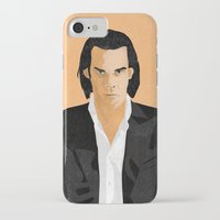 nick cave iPhone & iPod Cases featuring Nick Cave by Andy Rogerson