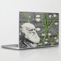 darwin Laptop & iPad Skins featuring Darwin-ing by Eleanor Boersma