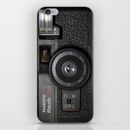 Camera II iPhone Skin