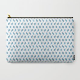 rhombus bomb in dusk blue Carry-All Pouch